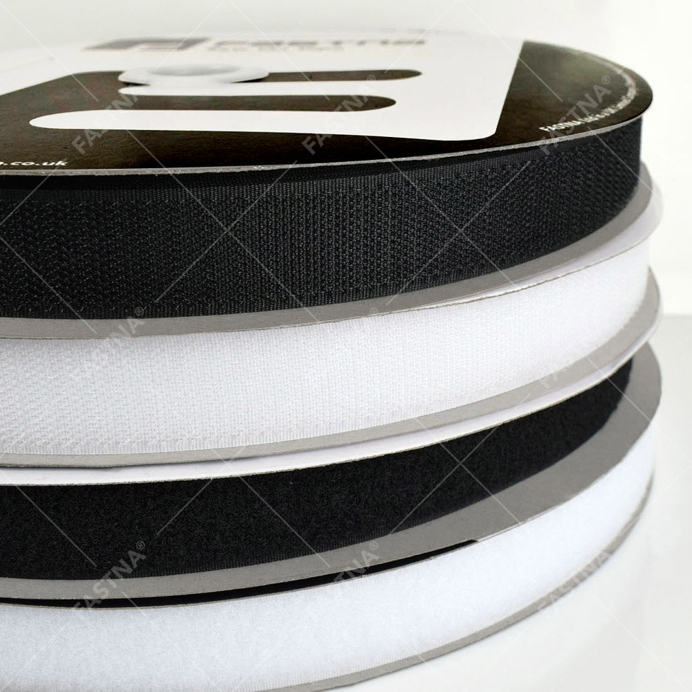 25m x Sew On FASTNA® Hook & Loop Tape