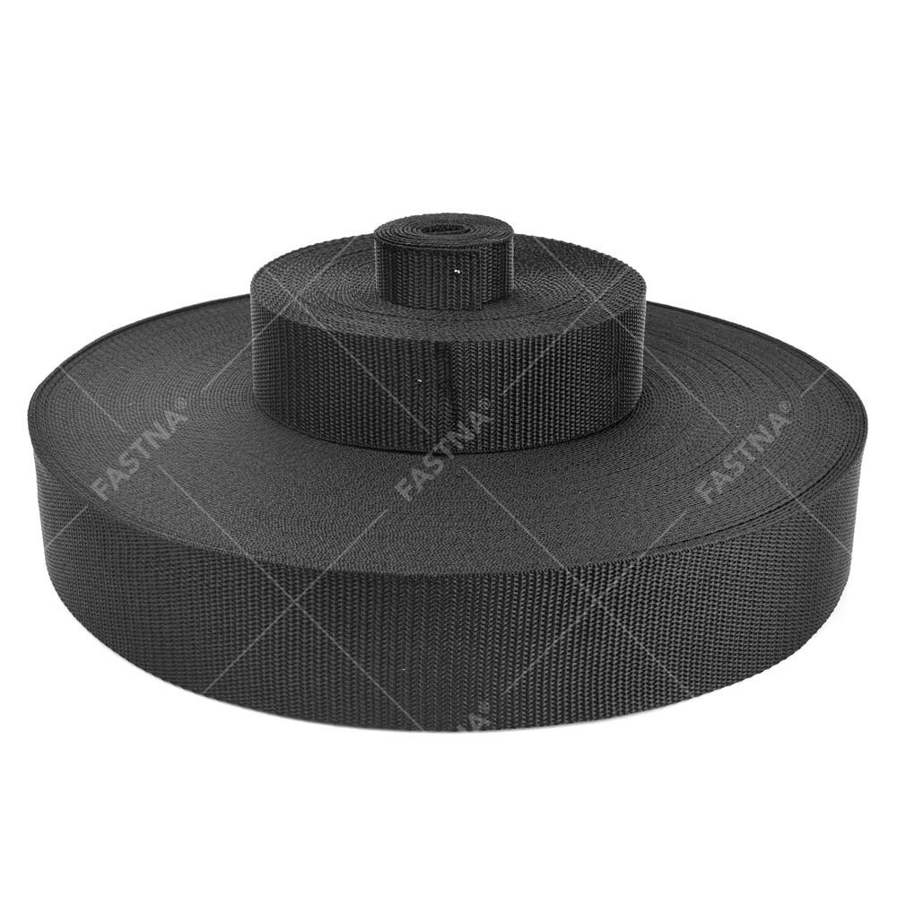 Black FASTNA® Polypropylene Webbing