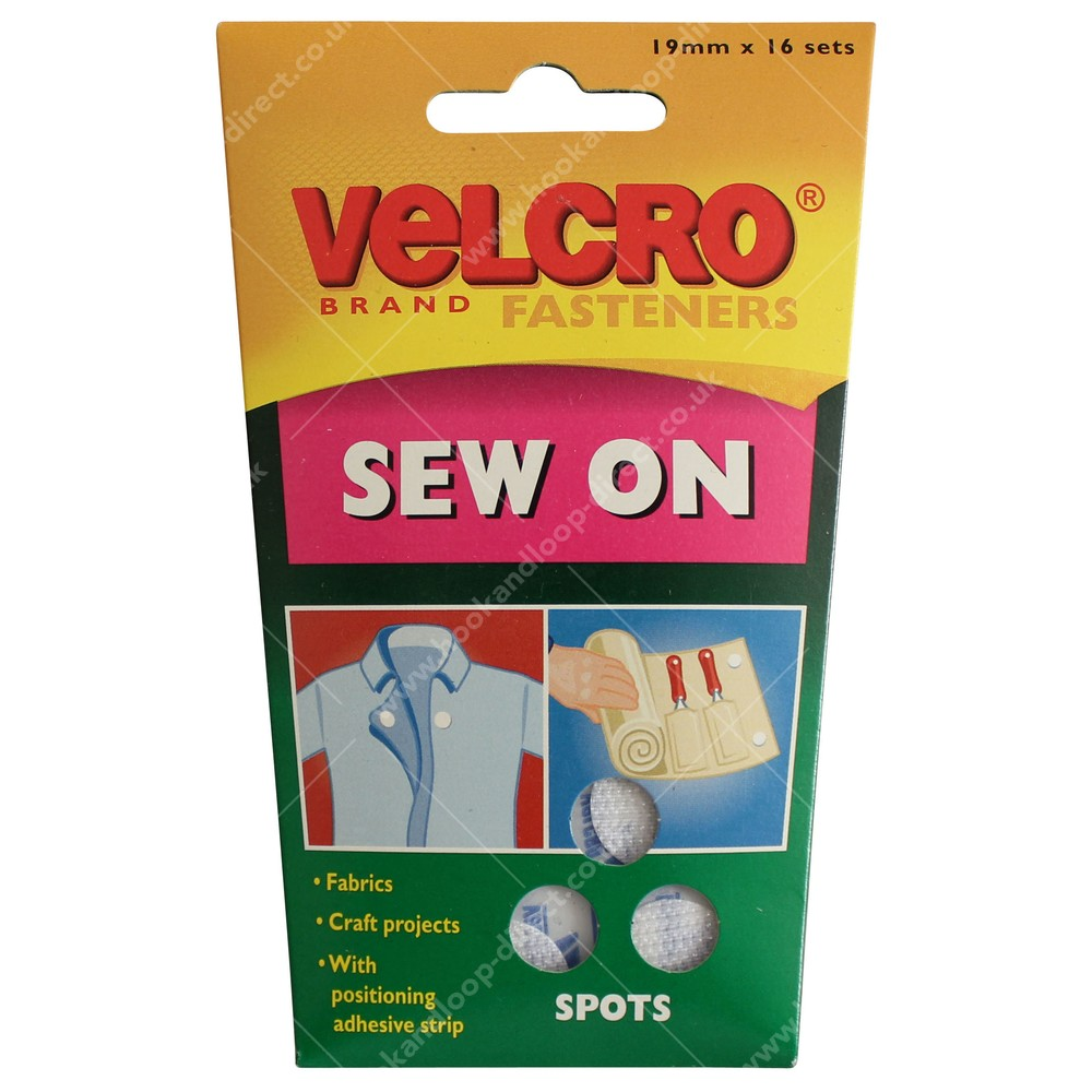 Sew On VELCRO® Hook & Loop Spots